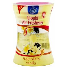 Pan Aroma Liquid Air Freshener Magnolie & Vanilka tekutý osvěžovač vzduchu sklo 75ml 1 kus