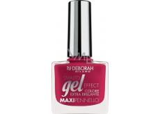 Deborah Milano Gel Effect Nail Enamel gelový lak na nehty 20 Mixed Berries 11 ml