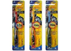 Batman 3D Soft zubní kartáček pro děti s krytkou 1 kus