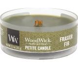 WoodWick Frasier Fir - Fraserova jedle vonná svíčka s dřevěným knotem petite 31 g
