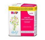 HiPP Babysanft Čisticí extra jemné vlhčené ubrousky pro děti 4 x 56 kusů