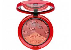 Artdeco Blush Couture tříbarevná tvářenka 33108 Cheek Kisses 10 g
