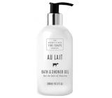 Scottish Fine Soaps Au Lait koupelový a sprchový gel 300 ml