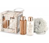Grace Cole Retreat sprchový gel 100 ml + tělové mléko 100 ml + houba na tělo, kosmetická sada
