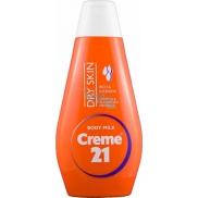 Creme 21 Mandlový olej a vitamín E tělové mléko pro suchou pleť 50 ml