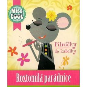 Nekupto Miss Cool pilníčky na nehty Myška Roztomilá parádnice 6 kusů 1 balení, 002