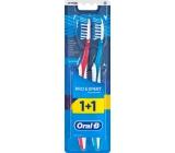 Oral-B Pro Expert CrossAction střední zubní kartáček 1+1 kus