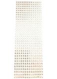 Albi Samolepicí kamínky stříbrné 5 mm 462 kusů