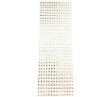 Albi Samolepící kamínky stříbrné 5 mm 462 kusů
