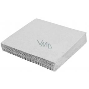Harmony Papírové ubrousky barevné šedé 3 vrstvé 33 x 33 cm 20 kusů