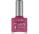 Deborah Milano 7 Days Long Nail Enamel lak na nehty 868 Magenta Pink 11 ml