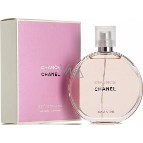Chanel Chance Eau Vive toaletní voda pro ženy 35 ml