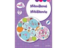 Ditipo Omalovánky Mandaly - Milouškové pro děti 4+ 16 stran