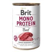 Brit Mono Protein Hovězí kompletní krmivo pro psy 400 g