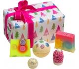 Bomb Cosmetics Vánoční strom - O Christmas Tree balistik 160 g + špalíček 50 g + kulička 30 g + mýdlo 2x100 g, kosmetická sada