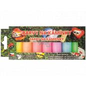 Kreativ Colour Barvy na kamínky akrylové svítící sada 7 vodou ředitekných barev x 15 g