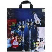 Press Igelitová taška 43 x 47 cm Šampáňo 1 kus