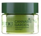 Lirene Cannabis Garden regenerační noční krém pro všechny typy pleti 50 ml