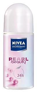 Nivea Pearl & Beauty kuličkový antiperspirant deodorant roll-on pro ženy 50 ml