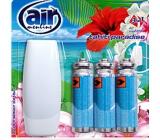 Air Menline Tahiti Paradise Happy spray osvěžovač vzduchu komplet + náplně 3 x 15 ml