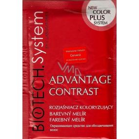 Biotech System Advantage Contrast melírovací prášek červený 15 g