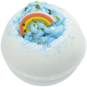 Bomb Cosmetics Za duhou - Over the Rainbow Šumivý balistik do koupele 160 g