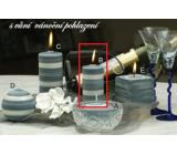 Lima Zimní třpyt Vánoční pohlazení vonná svíčka válec 50 x 100 mm 1 kus