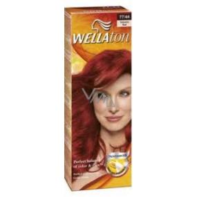 Wella Wellaton krémová barva na vlasy 77-44 ohnivá červená