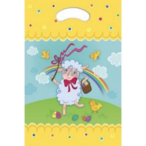 Ditipo Sáček s průhmatem Velikonoční ovečka 22 x 32 cm