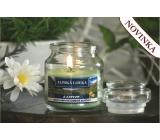 Lima Aroma Dreams Alpská louka aromatická svíčka sklenička s víčkem 120 g