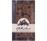Bohemia Gifts & Cosmetics Mléčná hořká čokoláda Sladké pokušení Mořská sůl ručně vyráběná 80 g