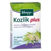 Kneipp Kozlík Plus doplněk stravy na podporu normální funkce nervového systému 40 dražé