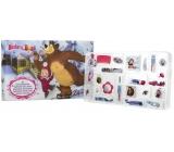 Máša a Medvěd Adventní kosmetický kalendář 24 kusů