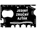 Albi Multinářadí do peněženky Jediný zručný ajťák 8,5 cm x 5,3 cm x 0,2 cm