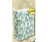 Nekupto Dárková kraftová taška střední 24 x 18 x 8 cm Vánoční 519 WKM