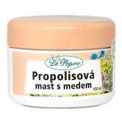 Dr. Popov Propolisová mast s medem na popraskanou pokožky, jizvy, vrásky, kožní problémy, sluneční záření 100 ml