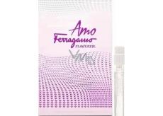Salvatore Ferragamo Amo Ferragamo Flowerful toaletní voda pro ženy 1,5 ml s rozprašovačem, Vialka