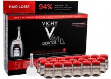 Vichy Dercos Aminexil Clinical 5 kúra proti vypadávání vlasů pro muže 21 x 6 ml