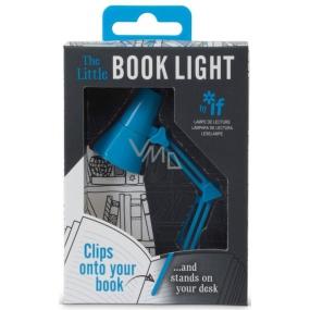 If The Little Book Light Mini lampička retro Modrá 118 x 85 x 35 mm