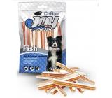 Calibra Joy Classic Tresky a kuřete sandwich doplňkové krmivo pro psy 80 g