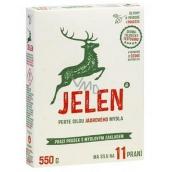 Jelen Mýdlový prací prášek krabice 11 dávek 550 g