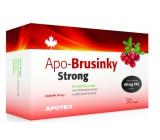 Apotex Strong brusinky přírodní velmi silné antioxidanty 500 mg 30 kapslí