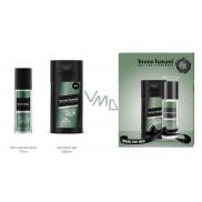 Bruno Banani Made parfémovaný deodorant sklo pro muže 75 ml + sprchový gel 250 ml, dárková sada
