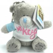 Me to You Klíčenka plyšová Medvídek s tričkem a nápisem My Keys 8 cm