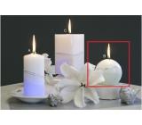Lima Magická Artic svíčka koule 80 mm 1 kus