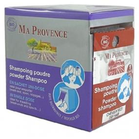 Ma Provence Bio proti lupům práškový šampon 1 g