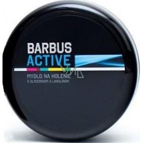 Barbus Active Man mýdlo na holení s glycerínem a lanolínem 150 g