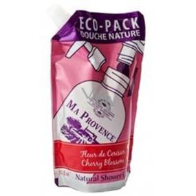 Ma Provence Bio Třešeň sprchový gel náhradní náplň 500 ml