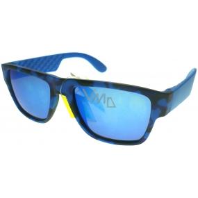 Dudes & Dudettes Sluneční brýle pro děti JK444 modré
