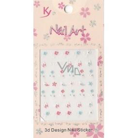 Nail Accessory 3D nálepky na nehty 10100 KYA11 1 aršík